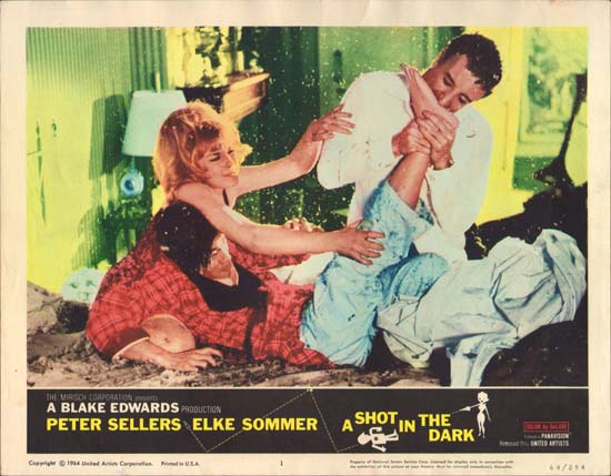 Shot in the Dark, A US Lobby Card number 1