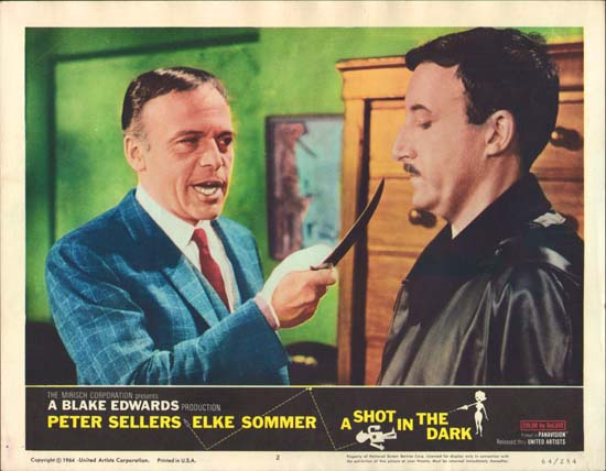 Shot in the Dark, A US Lobby Card number 2