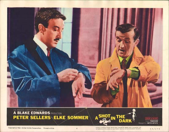 Shot in the Dark, A US Lobby Card number 4