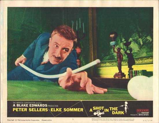 Shot in the Dark, A US Lobby Card number 5
