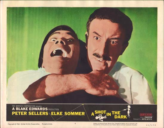 Shot in the Dark, A US Lobby Card number 8