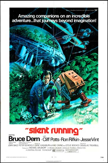 Silent Running US One Sheet movie poster