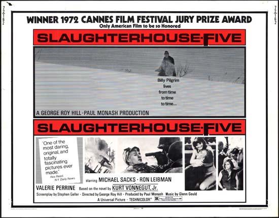 Slaughterhouse Five US Half Sheet movie poster