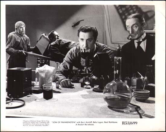 Son of Frankenstein US Production Still