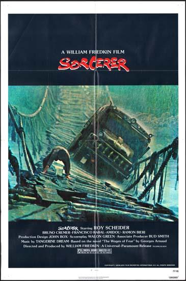 Sorcerer US One Sheet movie poster