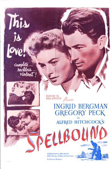 Spellbound US One Sheet movie poster