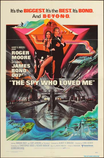 Spy Who Loved Me, The Film Poster