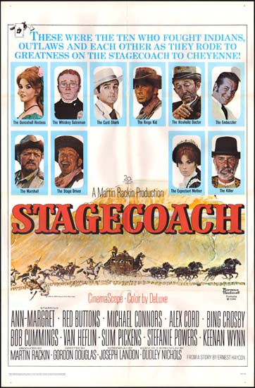 Stagecoach US One Sheet movie poster