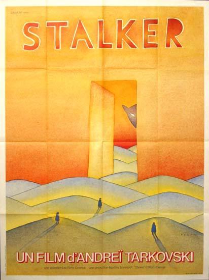 Stalker French Grande movie poster