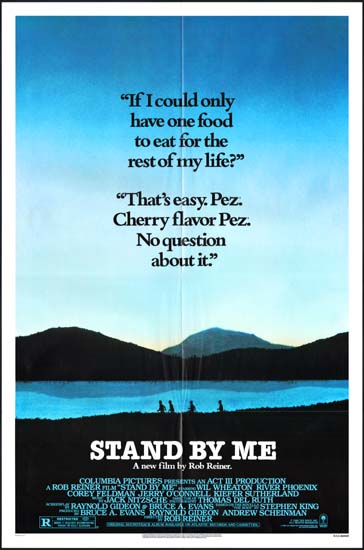 Stand By Me US One Sheet movie poster