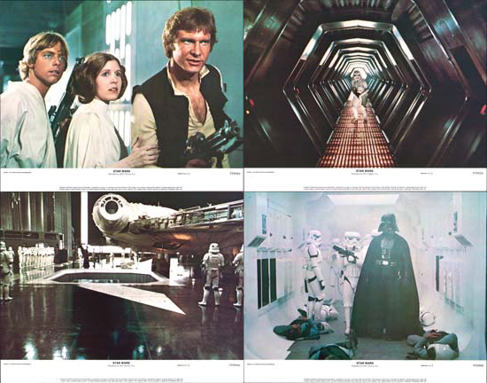 Star Wars US Lobby Card Set of 8