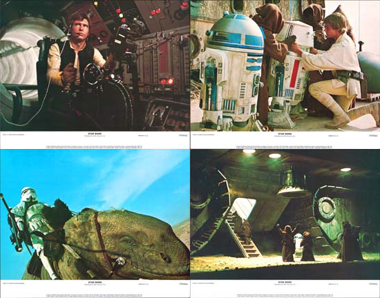 Image 2 of Star Wars US Lobby Card Set of 8