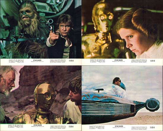 Star Wars US Mini Lobby Card Set of 8