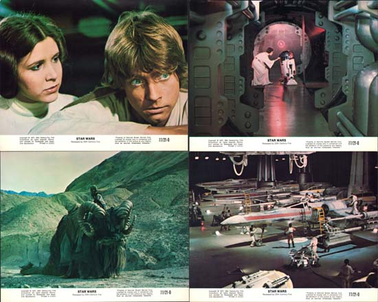 Image 2 of Star Wars US Mini Lobby Card Set of 8