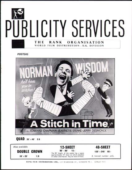 Stitch in Time, A UK Pressbook