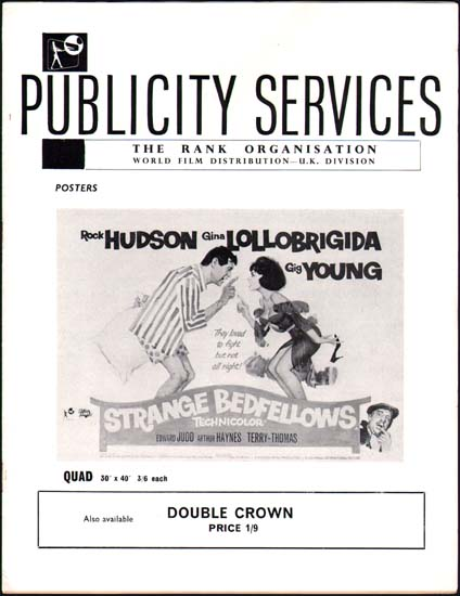 Strange Bedfellows UK Pressbook