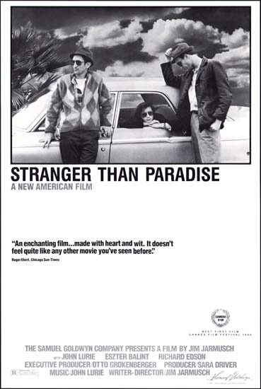 Stranger Than Paradise US One Sheet movie poster