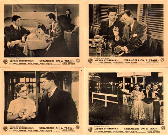Strangers on a Train GB FOH set of 8