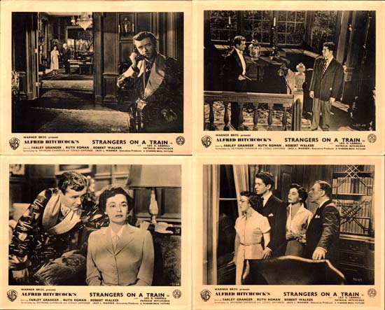 Image 2 of Strangers on a Train GB FOH set of 8