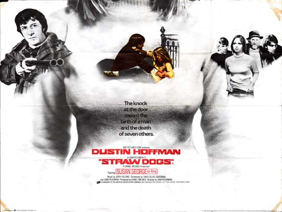 Straw Dogs UK Quad movie poster