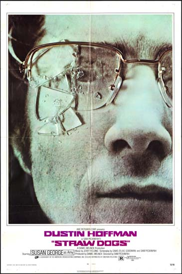 Straw Dogs US One Sheet style A movie poster