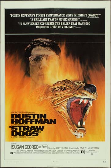 Straw Dogs US One Sheet style D movie poster