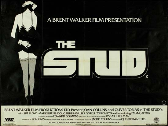 Stud, The UK Quad movie poster