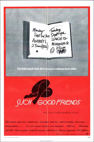 Such Good Friends US One Sheet movie poster