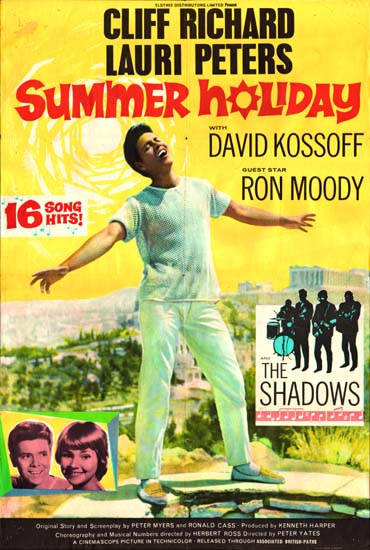 Summer Holiday UK One Sheet movie poster