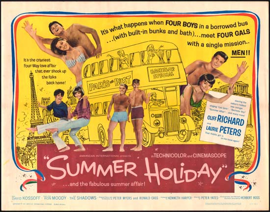 Image of Summer Holiday US Half Sheet movie poster