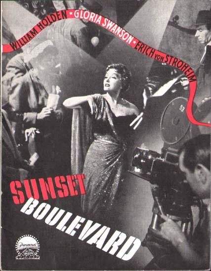 Sunset Boulevard Danish Program