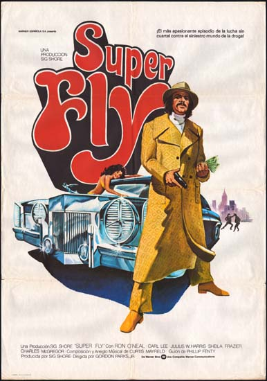 Super Fly Spanish One Sheet movie poster