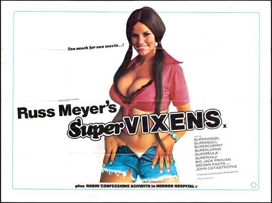 Supervixens [ Super Vixens ] UK Quad movie poster