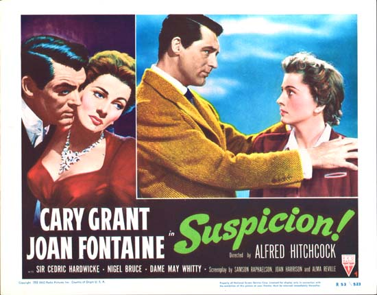 Suspicion US Lobby Card number 4