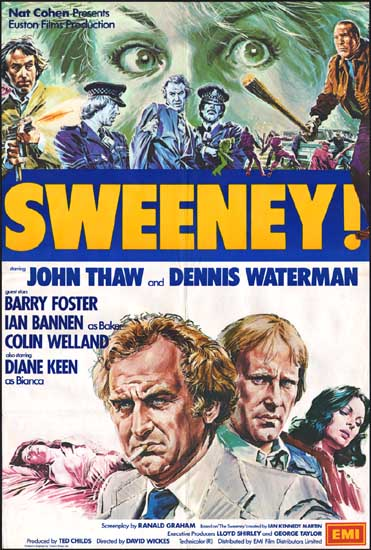 Sweeney! UK One Sheet movie poster
