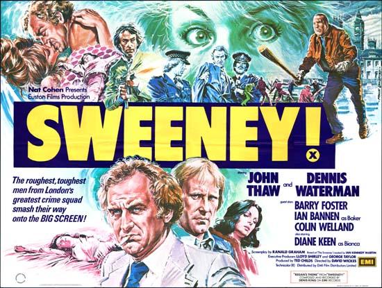 Sweeney! UK Quad movie poster