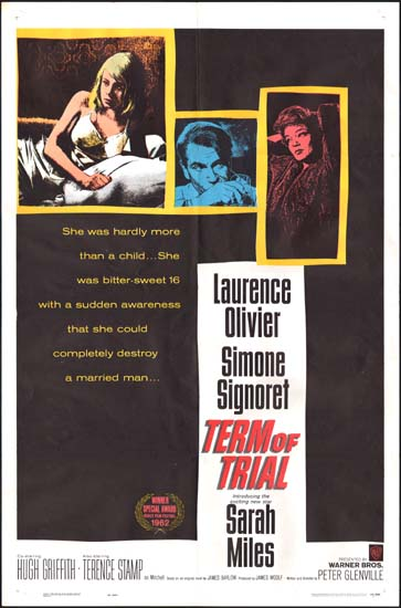 Term of Trial US One Sheet movie poster