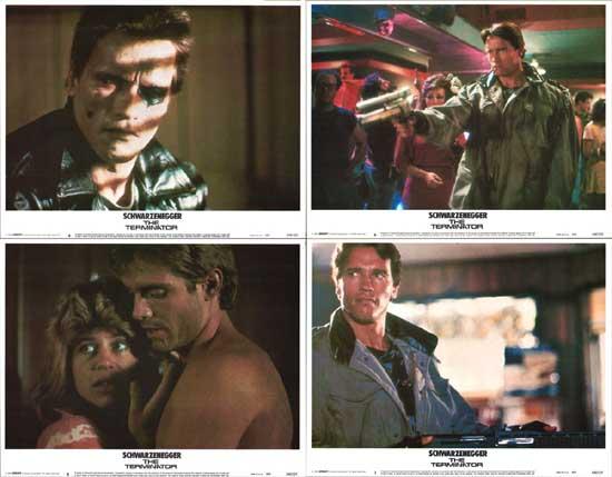 Terminator, The US Lobby Card Set of 8