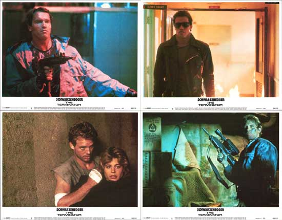 Image 2 of Terminator, The US Lobby Card Set of 8
