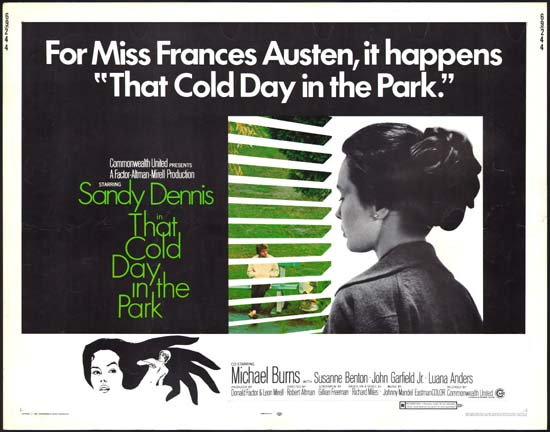 That Cold Day in the Park US Half Sheet movie poster
