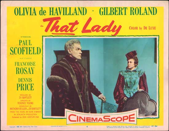 That Lady US Lobby Card number 4