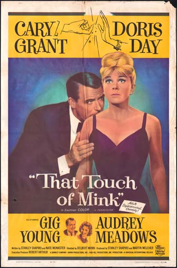 That Touch of Mink US One Sheet movie poster