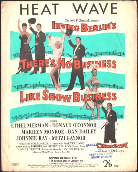 Theres No Business Like Show Business UK Sheet Music