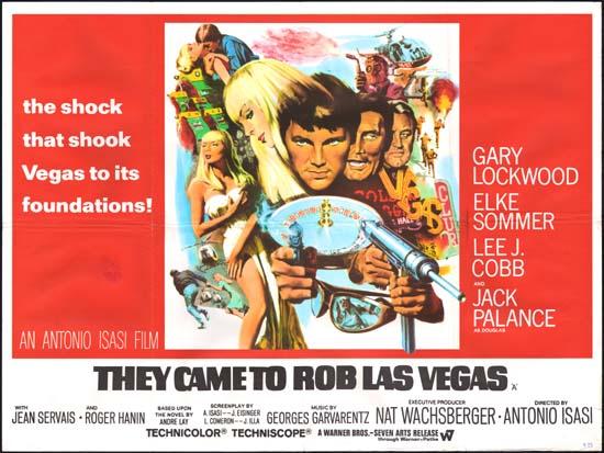 They Came to Rob Las Vegas [ Las Vegas 500 millones ] UK Quad movie poster