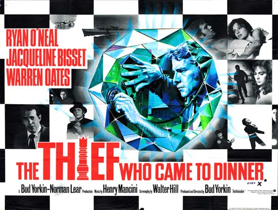 Thief Who Came to Dinner, The GB Quad movie poster