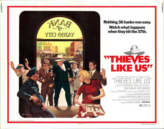 Thieves Like Us US Half Sheet movie poster