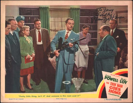 Thin Man Goes Home, The US Lobby Card number 6