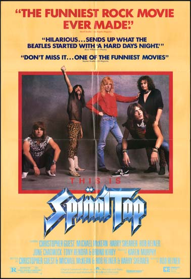 This is Spinal Tap US One Sheet movie poster