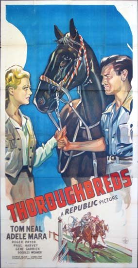 Thoroughbreds US Three Sheet movie poster