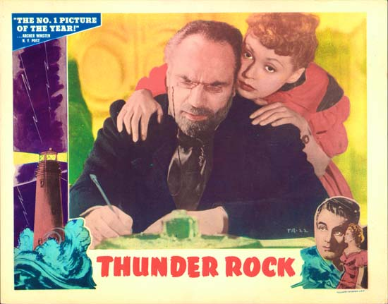 Thunder Rock US Lobby Card